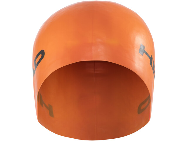 Head Silicone Moulded Berretto, orange